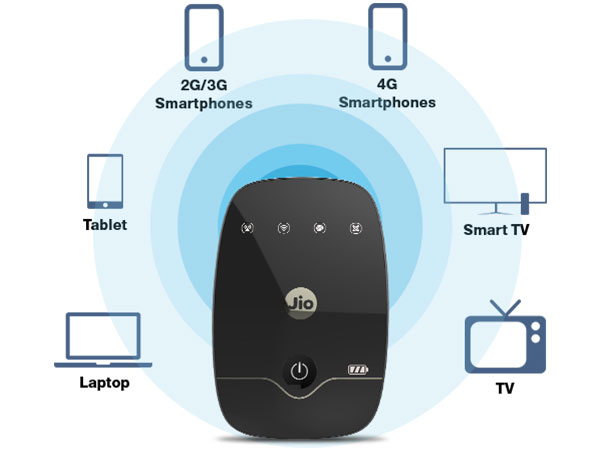 JioFi - Connect & Share among Multiple Devices