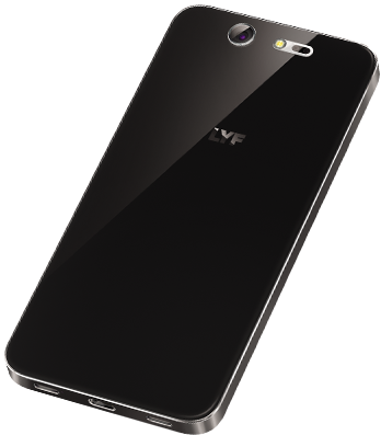 LYF EARTH 2 Smartphone Black Back