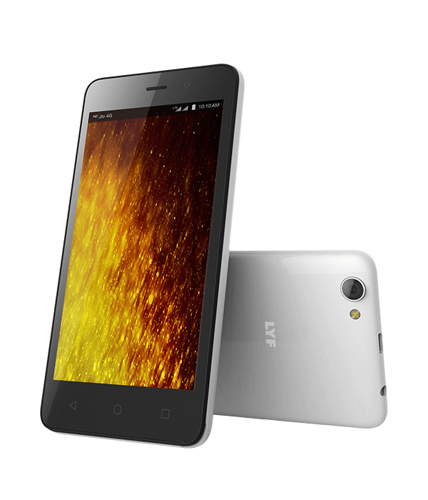 LYF FLAME 1 - Display and Design Smartphone