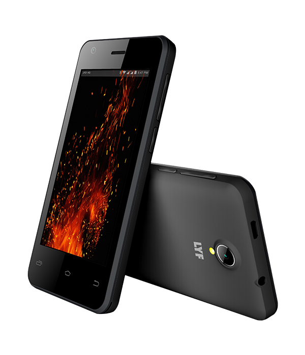 LYF FLAME 2 - 4 inch Display Smartphone