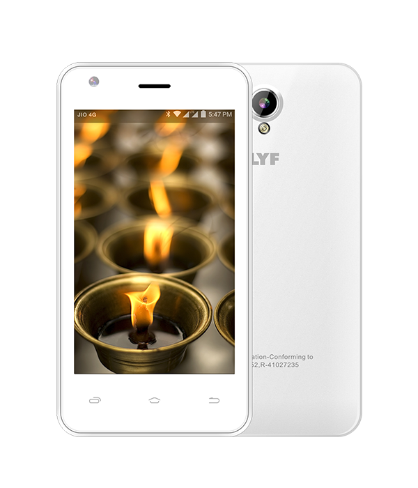 LYF FLAME 2 - Supports 10 Indian languages