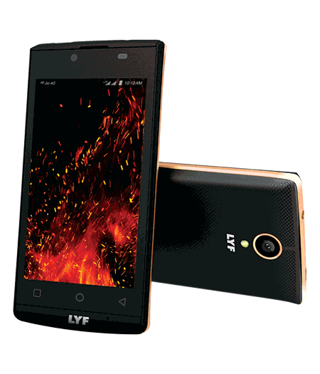 LYF FLAME 7 - Stylish Ultralight Smartphone