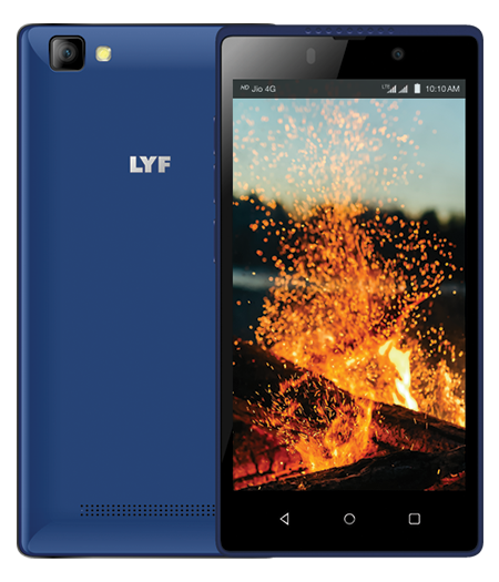 LYF FLAME 8 - 4.5 inch Display Smartphone