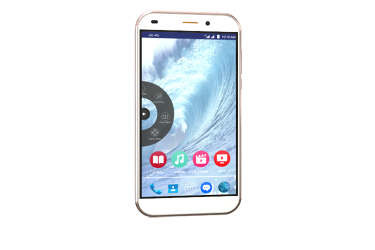 LYF WATER 9 - Float Gesture 4G Smartphone