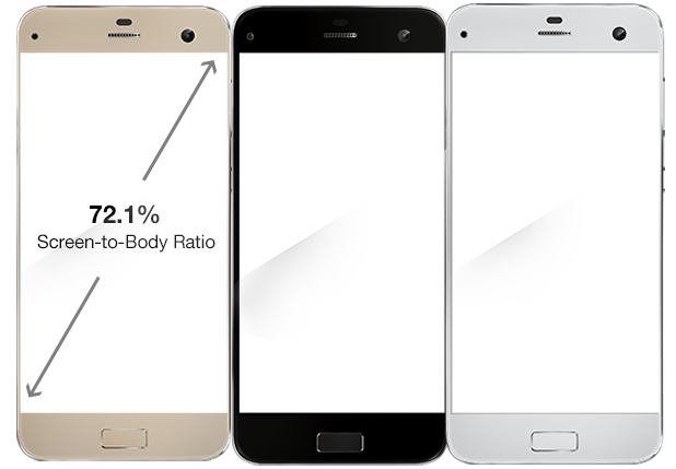 LYF EARTH 2 Smartphone - 72.1% Screen to Body Ratio