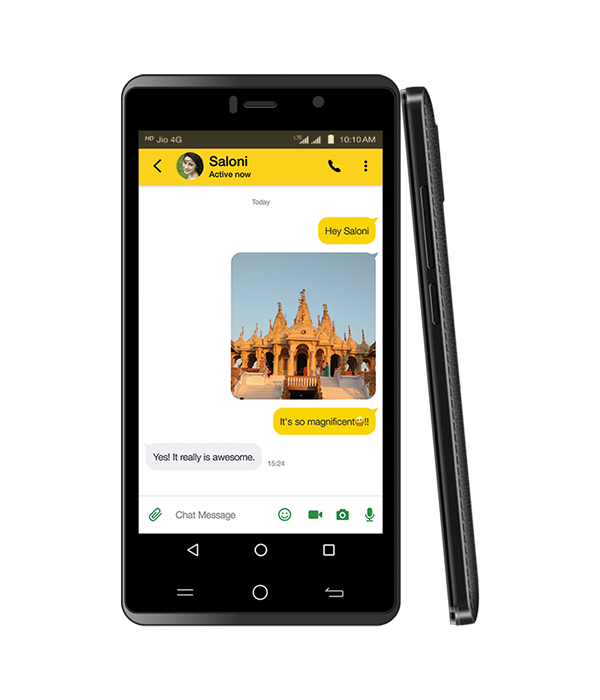 LYF WATER 10 - 3GB RAM Performance Smartphone