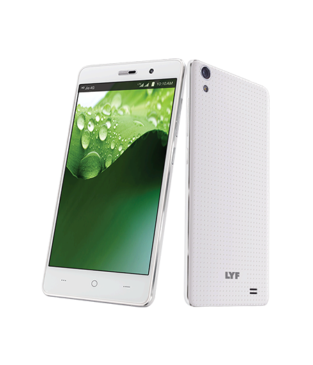 LYF WATER 4 - 5 inch Display Smartphone