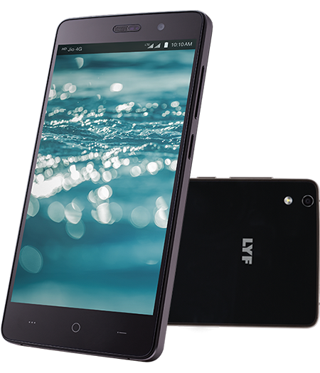 LYF WATER 5 - 5 inch Display Smartphone