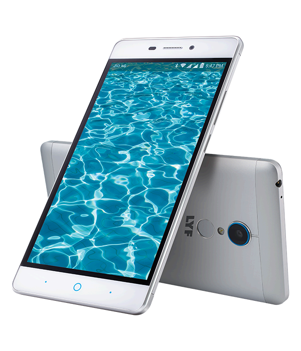 LYF WATER 7 - 5.5 inch Display Smartphone