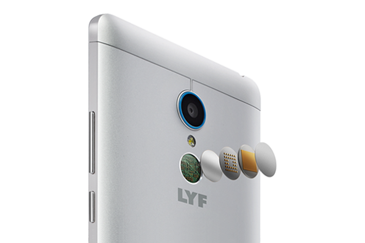 LYF Water 7 - Fingerprint Scanner Smartphone