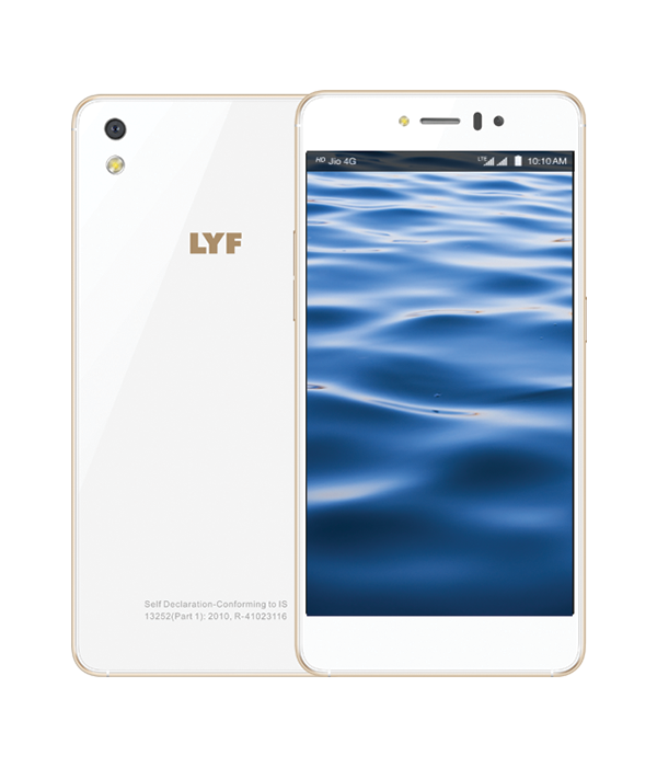LYF WATER 8 - 13MP Camera Smartphone