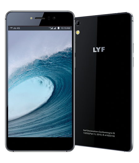LYF WATER 8 - Ultralight Unibody Design Smartphone