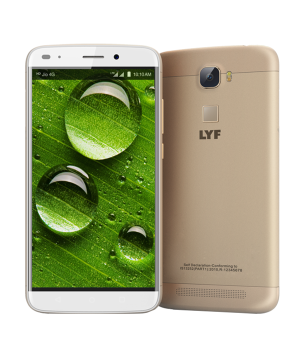 LYF WATER 9 - 13MP Camera Smartphone