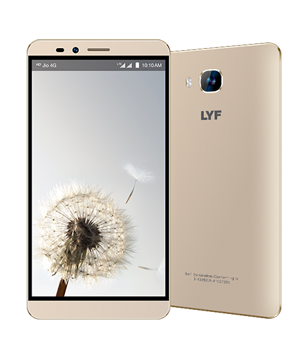 LYF WIND 2 - 6 inch Display Smartphone