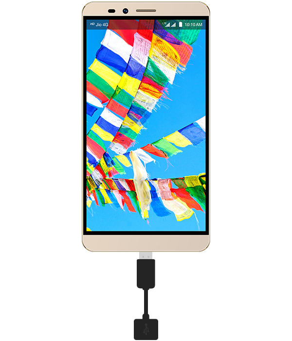 LYF WIND 2 - Smartphone with OTG Support