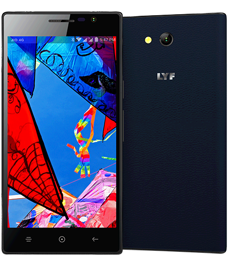 LYF WIND 4 - 8MP Camera Smartphone