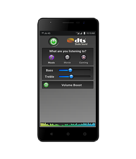 LYF WIND 4S- DTS Speakers Smartphone