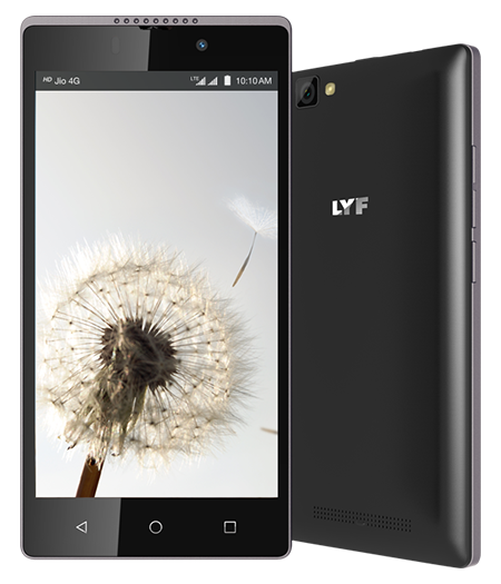 LYF WIND 7 - 5 inch HD IPS Display Smartphone
